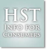HST information for consumers