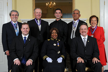 Photo of 2008 recipients