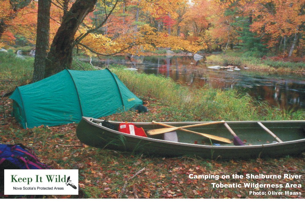 Camping on the Shelburne River