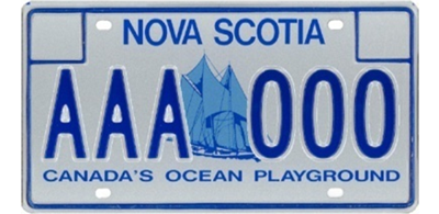 New Vehicle Licence Plates Access Nova Scotia Government Of Ns