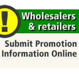 Wholesalers and retailers. We need your feedback on promotions.