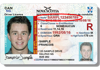 New Nova Scotia Learner's Licence